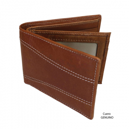 Billetera de cuero Rosenthal